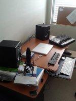 in office